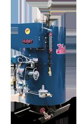 Series 4VT 4-PASS HIGH-PRESSURE VERTICAL TUBELESS BOILERS