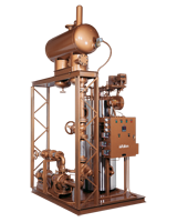 Vertical Tubeless Thermal Fluid (hot oil) Heater