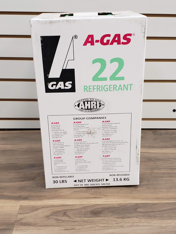 1 cylinder of R22 refrigerant