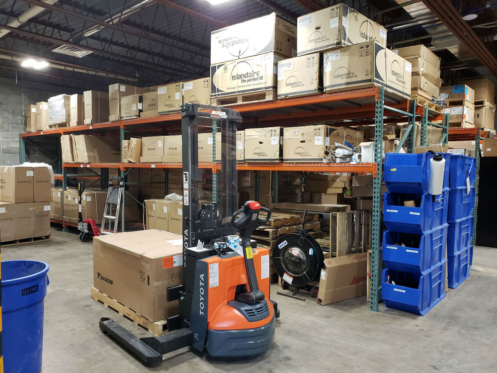 Aftermarket Parts & Replacement Equipment - warehouse