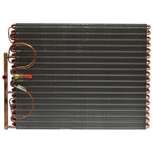 Heat pump evaporator coil