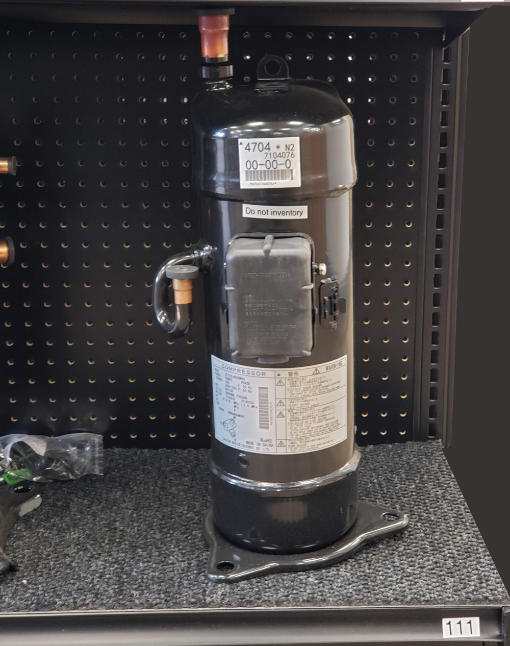 VRV inverter scroll compressor