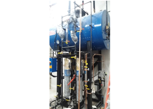 New Steam Boilers for Defense Contractor; Syracuse, NY